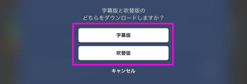 U-NEXT 作品をダウンロードする方法 字幕か吹替版か
