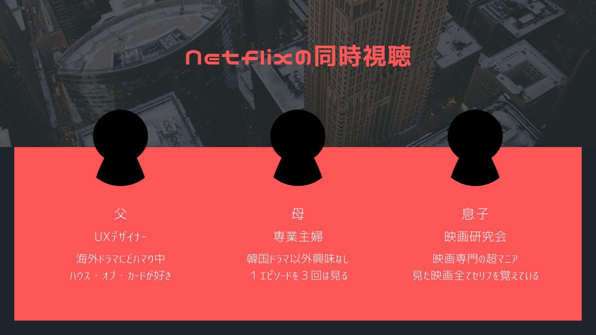 視聴 netflix 同時