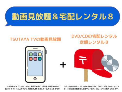 動画見放題&宅配レンタル8